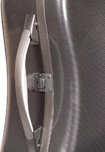 Bam France Hightech Compact Xtra Light 1104XL 4/4 Cello Case with Black Carbon-Look Exterior